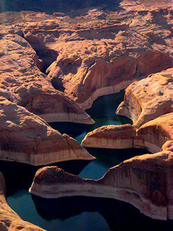Lake Powell Canyons